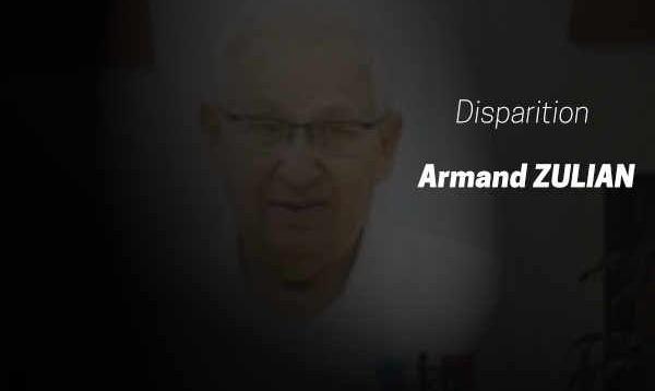 Disparition d'Armand ZULIAN